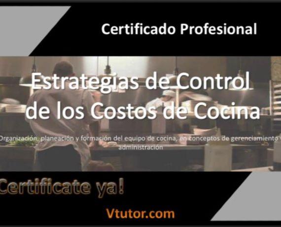 Estrategias de Control de los Costos en Cocina